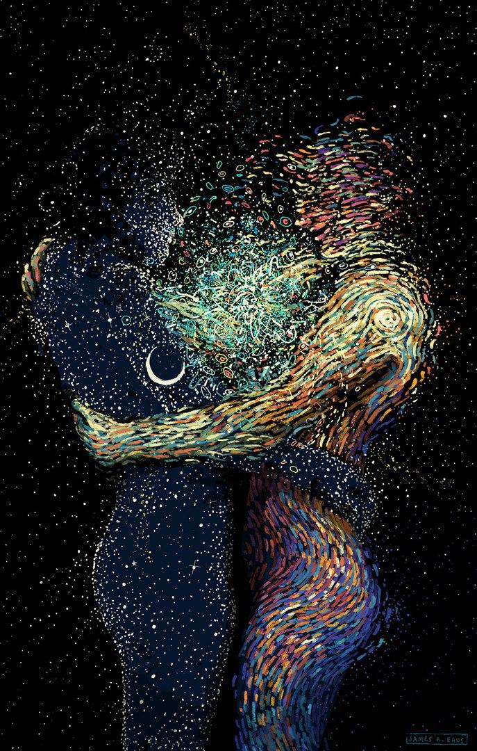 Звёздное небо и космос в картинках - Страница 37 NCMUANperlM