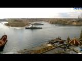 Эсминец NATO DIAMOND D 34 вошёл в порт Валлетта, корветы ВМФ 'Серпухов' 603 и 'Зелёный Дол' 602 ушли 11.10.2016.