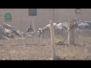 Сирия Снайпер повстанцев Ахрар Аш Шам запрещена в рф снимает боевика режима асада в западном Дамаске