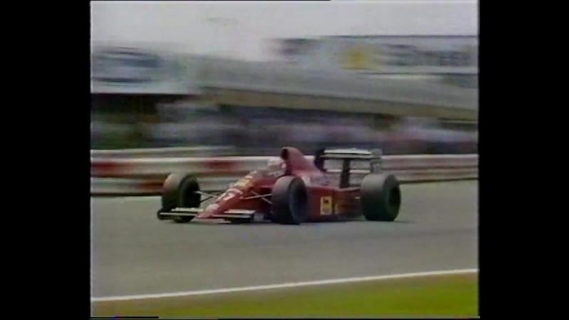 Формула-1 1989. Этап 8 - Гран-При Великобритании, русский