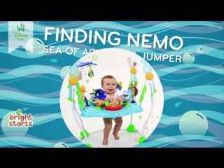 Disney Baby FINDING NEMO Sea of Activities Jumper from Bright Starts