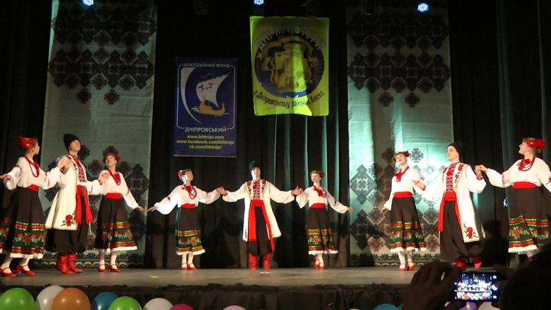27 лютого 2017 рік. Концерт, присвячений 112-ій річниці з дня народження П.П.Вірського. Кадриль Дев'ятка.