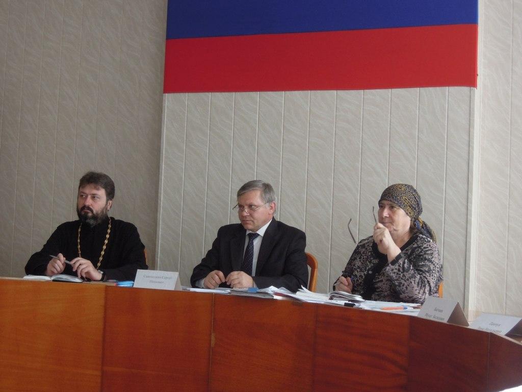 В Зеленчукской прошло заседание Общественного совета Зеленчукского муниципального района