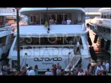 P.Diddy, Bar Rafaeli, Pamela Anderson, Jack Nicholson in St Tropez