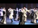Ансамбль Иристон, Юбилей Махарбека ПЛИЕВА,осетинский массовый танец СИМД, г.Владикавказ 2016г.