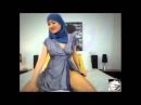 Hijabi Girl Twerking!! Sexy Arab Dubai Twerk NEW MUNA