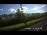 Россия из окна поезда.Новосибирск-Омск. Часть 5. Окончание