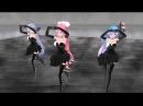[MMD] Ghost rule Tda Luka4 Black Dress Hotskirt