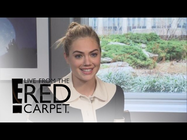 Kate Upton Talks Sports Illustrated Cover Fitness | E! Live from the Red Carpet