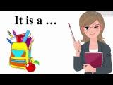 Урок 3 Англйська мова 1 клас. My school Частина 5