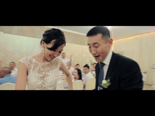Калмыкая свадьба. Невеста поет жениху. Неожиданный подарок