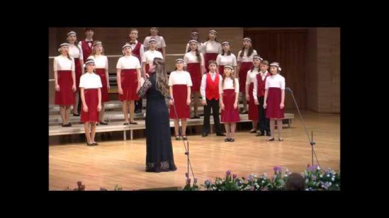 Старший хор Мелодия ДМШ им.С.М. Майкапара - Tavaszi szel