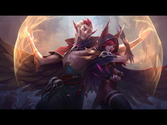 Xayah Rakan League Of Legends Login Screen With Music