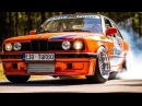 BMW E30 GRAND Turbo | Palenie Gumy | Drag Race | Burnout | GoPro