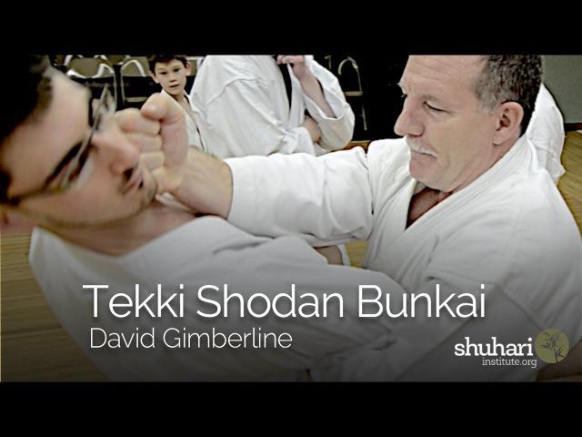 Tekki Shodan Kata Application
