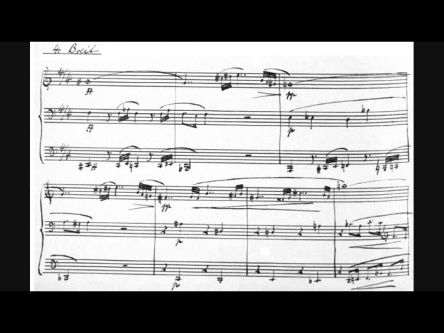 Paul Hindemith 7 Trio Pieces For 3 Trautoniums