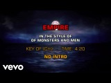 Of Monsters and Men - Empire (Karaoke)