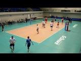 Академия - Центробанк, ч.2, Чемпионат СПб по волейболу, 23.04.17
