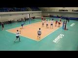 Академия - Центробанк, ч.1, Чемпионат СПб по волейболу, 23.04.17