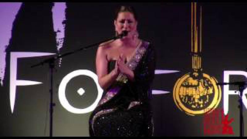 Marina Heredia en el 50 Festival Cante Grande Fosforito Puente Genil