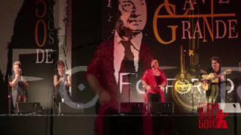 Carmen Linares en el 50 Festival Cante Grande Fosforito Puente Genil