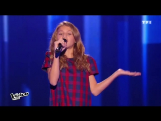 ABCMAGIE The Voice Kids 2016 - Lou - Carmen (Stromae) - Blind Audition