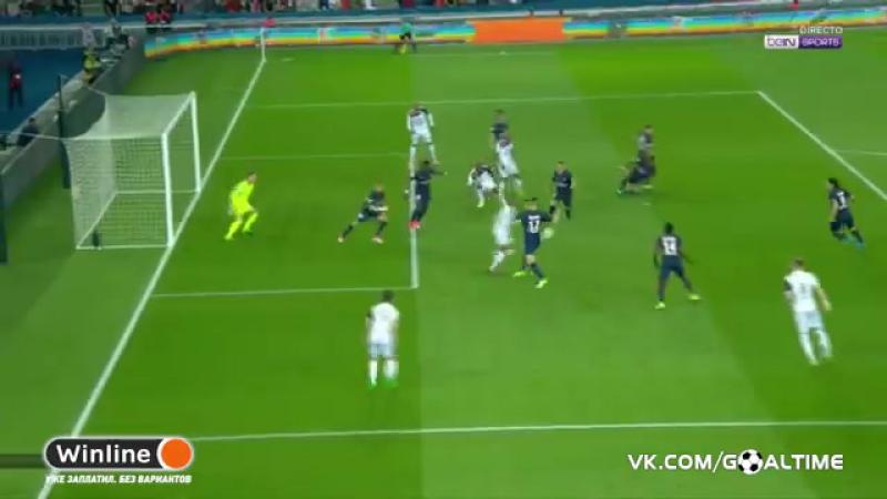 ГолТВ рф ПСЖ Генгам 4 0 Обзор матча Франция Лига 1