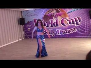 Shulkevich Veronika, Drum - Шулькевич Вероника, Табла - Word Cup of BellyDance 2 25