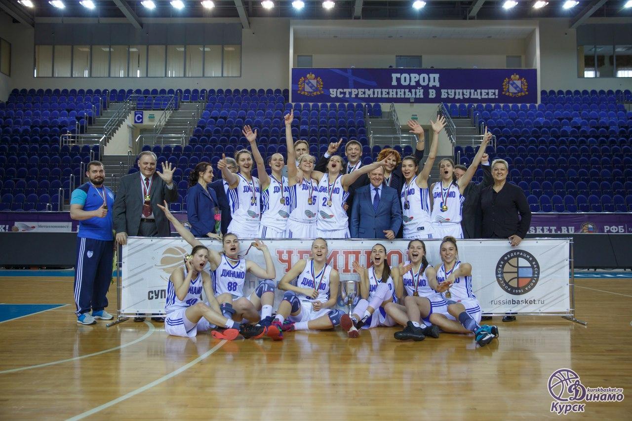 Курск в женской баскетбольной премьер-лиге представят две команды