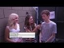 Zara Larsson - Short interview (at the 'Arthur Ashe Kids Day' 27/08/16)