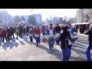 «Юнга» Новороссийск на шествии Дедов Морозов 17 декабря 2016 г. в Краснодаре