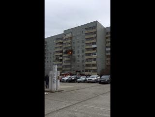 пожар 17.04.17 Снежинск