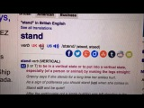 Stand (UK - US)