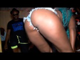 African Party - crazy black girl modern Music and dance twerk