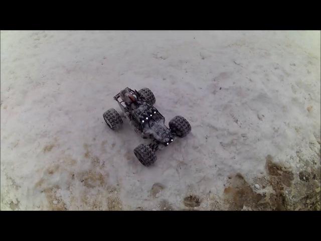 Vaterra twin hammers снежные преграды