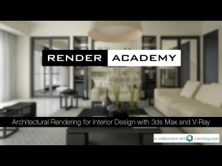 V-Ray Global Illumination for Architectural Rendering in 3ds Max