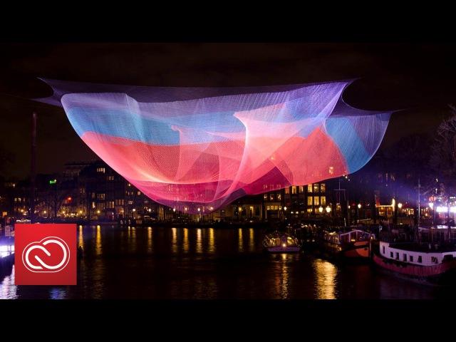 Janet Echelman: Breaking Down Boundaries with Art   Adobe Creative Cloud