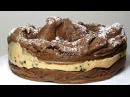 Шоколадный пирог ☀ КАРПАТКА ☀ Польский торт с карамельным заварным кремом - KARPATKA cake recipe