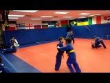Детское дзюдо в США Дети 6 8 лет Приемы и свободная борьба в стои
