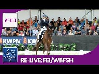 Re-Live | Longines FEI/WBFSH | World Breeding Dressage Chps. f. Young Horses | Final 5yo horses