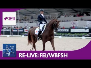 Re-Live | Longines FEI/WBFSH | World Breeding Dressage Chps. f. Young Horses | Final 6yo horses