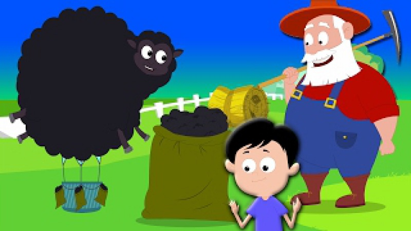 Baa baa schwarze Schafe | Baby reim | Kinder Song | Baa Baa Black Sheep | Nursery Rhyme Song