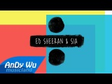 Ed Sheeran &amp Sia - Shape of You  The Greatest  Cheap Thrills (Lyric Video)