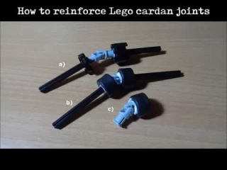How to reinforce Lego cardan joint