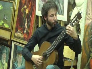Кирилл Модестов на концерте Виктора Попова (Старая Школа 19.02.2017)