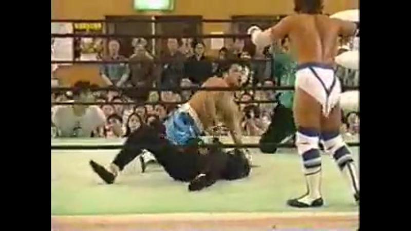 Sasuke Delfin vs Togo, Teioh Shiryu