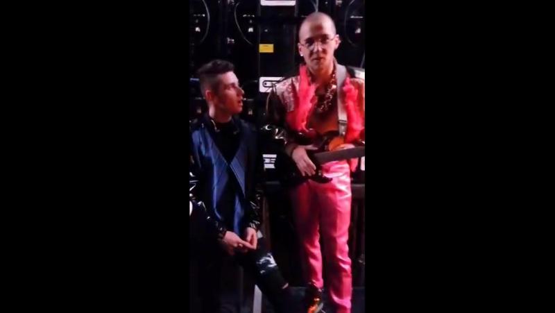 Donny Montell at the rehearsal of Eurovizijos dainų konkurso nacionalinė atranka final (live @ Klaipeda, 11.03.2017)