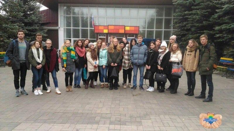 Студенты бакалавриата «Финансовый контроль и государственный аудит» посетили дом-интернат «Березка»