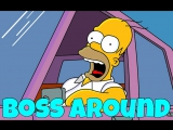 Фразовый глагол to BOSS AROUND из Симпсонов / The Simpsons