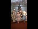 Новогодний парад Дедов Морозов и Снегурочек - часть 1